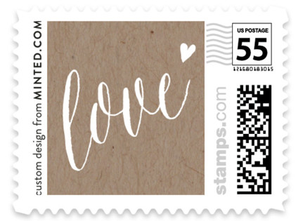 Charming Love Wedding Stamps