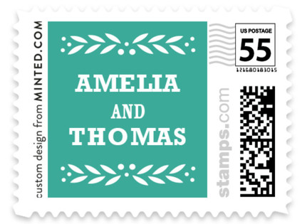Fiesta Folk Art Wedding Stamps