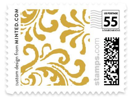 Black Tie Wedding Wedding Stamps