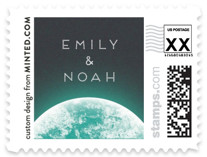 On top of the world Wedding Stamps