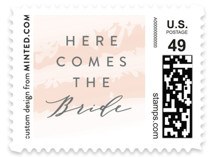 softly brushed Wedding Stamps