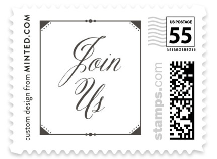 Fanciful Names Wedding Stamps