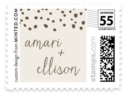 Dewdrop Wedding Stamps