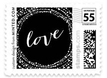 Black-Tie Wedding Stamps