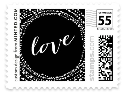 Black-Tie Wedding Stamps