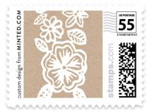 Elisabeth Floral Wedding Stamps