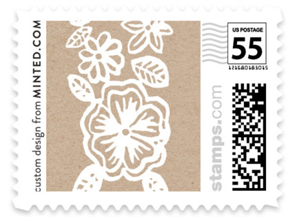Elisabeth Floral Wedding Stamps