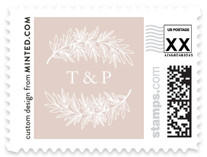 Foiled Branches Wedding Stamps