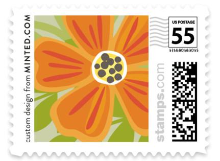 Royal Monogram Wedding Stamps