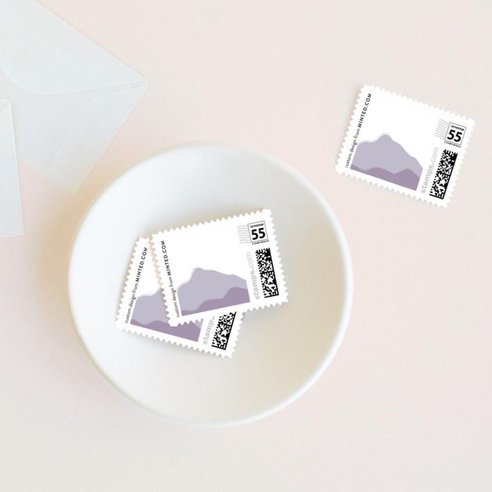 """On The Horizon"" - Wedding Stamps in Haze by R studio."