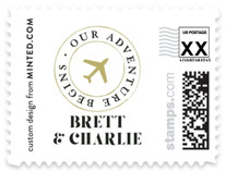 A Classic Destination Wedding Stamps