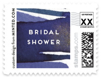 Wild Flowers Wedding Stamps