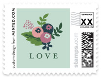 Sweet bouquet Wedding Stamps
