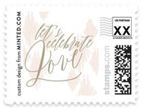 ikat shimmer Wedding Stamps