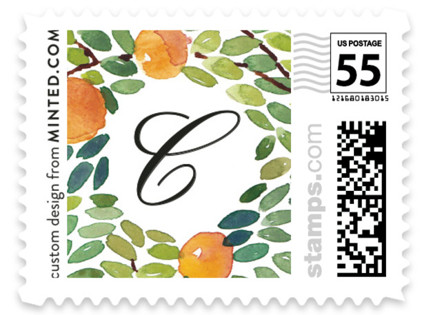 Orangerie Wedding Stamps