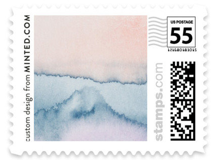 Simple Agate Wedding Stamps