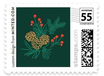 Holiday Wedding Wedding Stamps