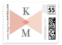 Mingle Graphic Wedding Stamps