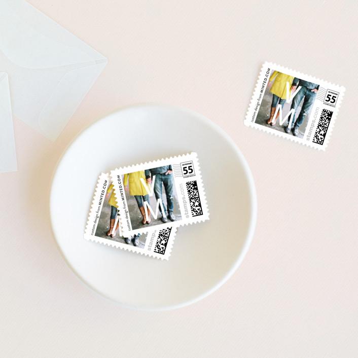 """""""Desenfadado"""" - Wedding Stamps in Black by Aspacia Kusulas."""