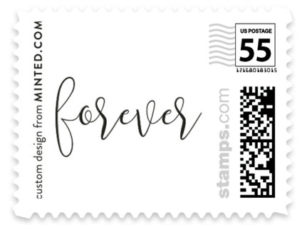 Forever Love Wedding Stamps