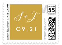 Shiny Love Wedding Stamps