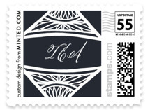 Deco Corners Wedding Stamps