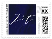 Elegant sea Wedding Stamps