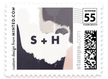 Artistic Union Wedding Stamps