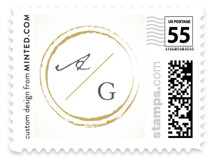 Monogram Circle Stamp