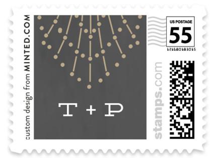 Wedding Sparkler Wedding Stamps