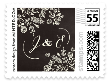 The Wedding Bouquet Wedding Stamps