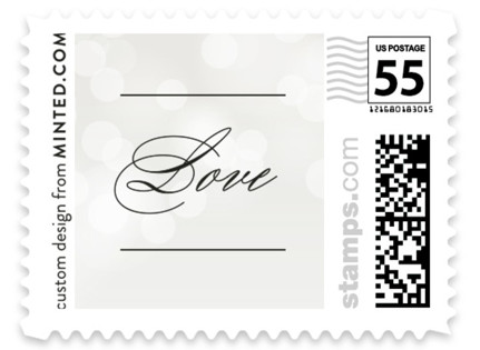 Starry Eyed Wedding Stamps