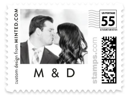 Thinline Gallery Wedding Stamps