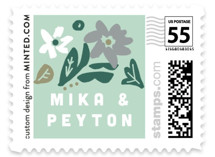 Stringed Wedding Stamps