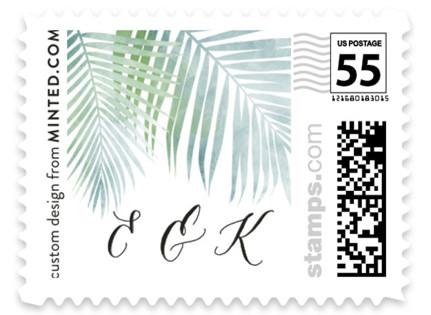 Sunny Wedding Wedding Stamps