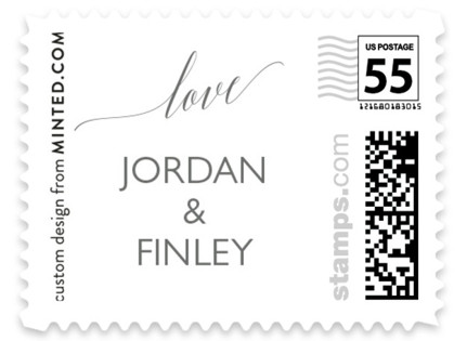 love Save the Date Wedding Stamps