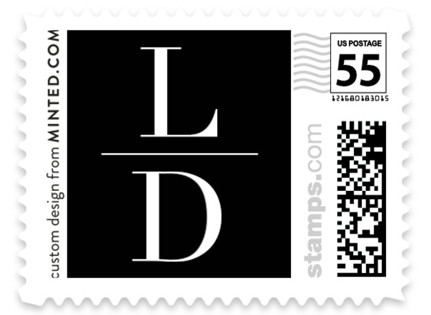 Love Letters Wedding Stamps