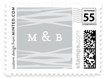 Love Square Wedding Stamps
