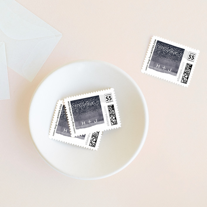 """Zen Horizons"" - Wedding Stamps in Citylights by shoshin studio."