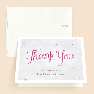 A Very Sweet 16 Sweet Sixteen Party Thank You Cards