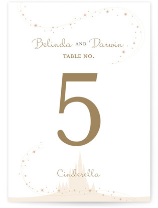 Enchanted Stars Table Numbers