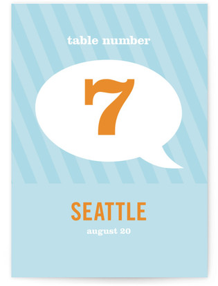 Smart Conversation Table Numbers