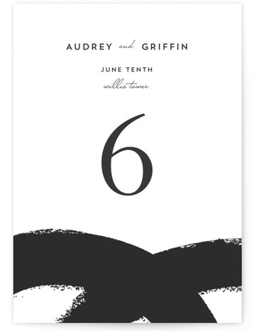 This is a portrait abstract, modern, pink Table Numbers by Angela Marzuki called the modernists with Standard printing on Luxe Museum Board in Classic Flat Card format. A modern and bold take on the wedding invitation. Think white gallery walls, ...