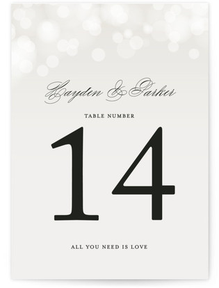 Starry Eyed Table Numbers