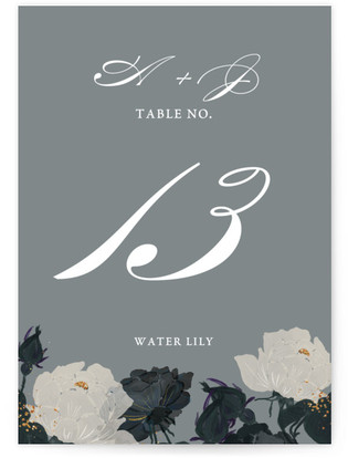 Romanticism Table Numbers