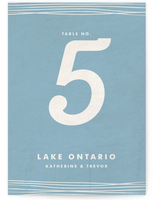 Simple Knot Table Numbers