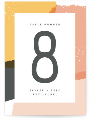 Brush Table Numbers