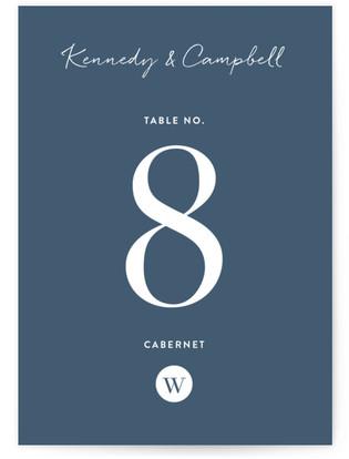 Wedding Stamp Table Numbers