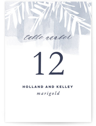 Batik Table Numbers