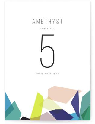 Gemstones Table Numbers